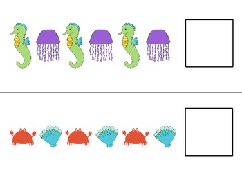 Ocean Patterning Cards -- 4 sets