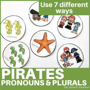 Ocean: Plurals and Pirate Pronoun Activity