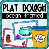 Ocean Play Dough Mats