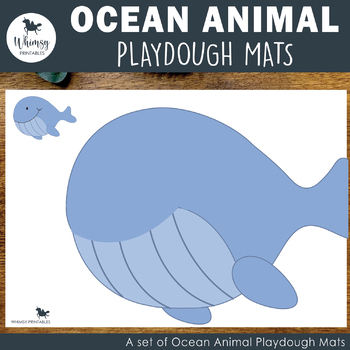 Ocean Playdough Mats