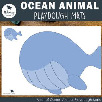 Ocean Playdough Mats