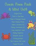 Ocean Poem Pack/Mini Unit