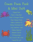 Ocean Poem Pack/Mini Unit