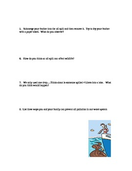 Ocean Pollution Lab: Investigating Oil Spills