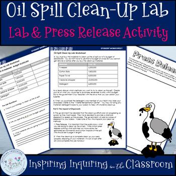 Ocean Pollution:  Oil Spill Clean Up Lab