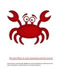 Ocean Pre-K and Kindergarten Pack