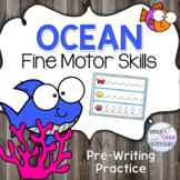 Ocean Pre-Writing Fine Motor Practice