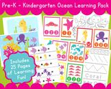 Ocean PreSchool Kindergarten Learning Pack O is for Ocean Curriculum