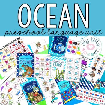 Ocean Preschool Language Unit