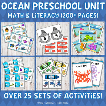 Ocean Themed Preschool Unit