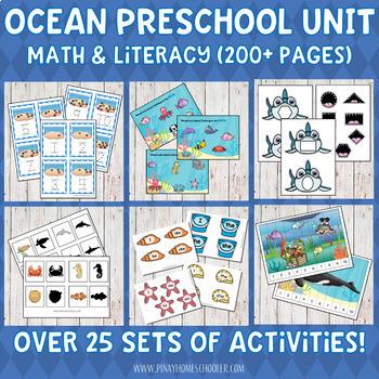 Ocean Preschool Unit (Mega Collection)