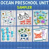 FREE Ocean Preschool Unit SAMPLER