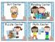 Ocean Pocket Chart Center Cards