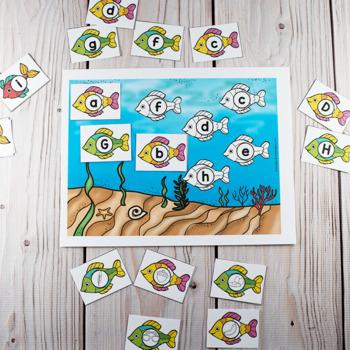 Ocean Theme Printable Math & Literacy Activities Pre-K, Preschool, Kindergarten