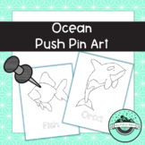 Ocean Push Pin Art