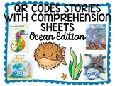 Ocean QR Code Comprehension Sheets