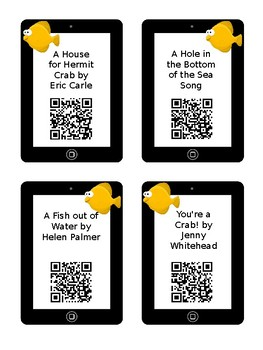 Ocean QR Code Read Aloud, Videos, Songs