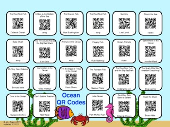 Ocean QR Codes