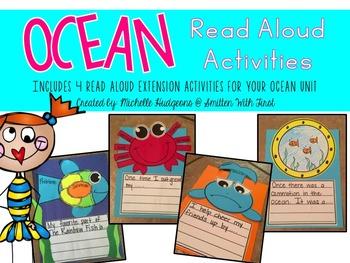 Ocean Read Aloud Activities (includes 4 activities for you