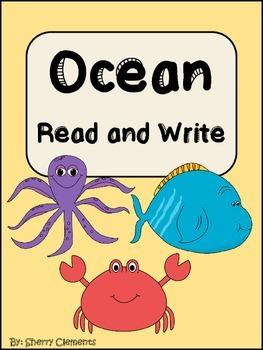 Ocean Read and Write (Summer) (Kindergarten, First & Second Grades)