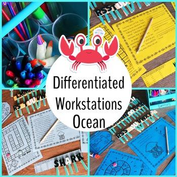 Ocean Differentiated ELA Reading Centers