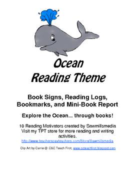 Ocean Reading Theme - Dive into Reading - Reading Motivators
