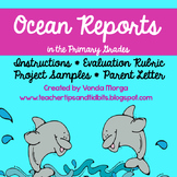 Ocean Reports Instructions and Rubric