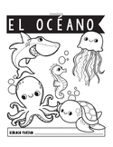 Ocean Research All About Book in SPANISH