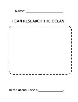 Ocean Research writing