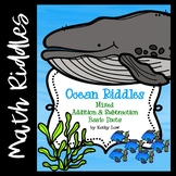 Ocean Riddles: Mixed Addition & Subtraction | Distance Learning Access