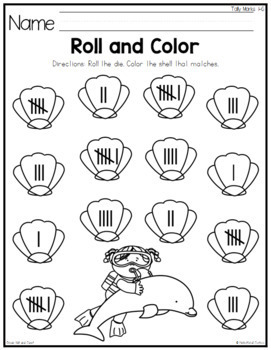Ocean Roll and Count Numbers 1-12