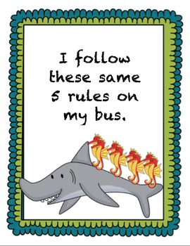 Ocean Rules Sign Print Set
