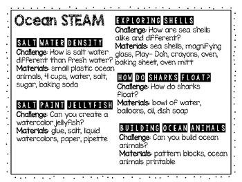 Ocean STEAM