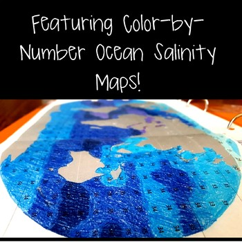 Ocean Salinity JUMBO Notes and Color-by-Number