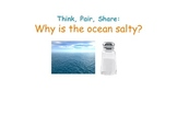 Ocean Salinity: Why is the Ocean Salty?