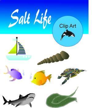Ocean Salt Life Clip Art