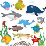 Ocean Scene *Smart Notebook*