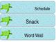 Ocean Schedule Labels