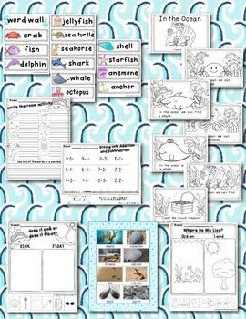 Ocean Science, Literacy, and Math Bundle