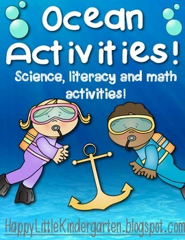 Ocean Science, Literacy, and Math Bundle