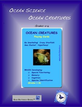 Ocean Science:  Ocean Creatures! Playing Cards