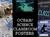 Ocean / Science Theme Printable Classroom Posters