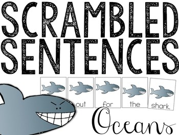 Ocean Scrambled Sentences