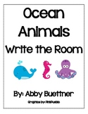 Ocean Sea Animals Write the Room