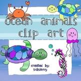 Ocean & Sea Clip Art!