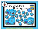 Ocean / Sea  -  Play Dough Manipulative Mats - Alphabet Nu