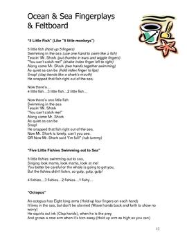 Ocean & Sea Theme: Curriculum Ideas for Preschool or Kindergarten