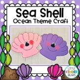 Ocean Seashell Craft And Writing Activity
