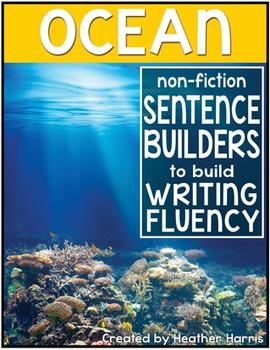 Ocean Sentence Builders