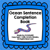 Ocean Sentence Completion Book